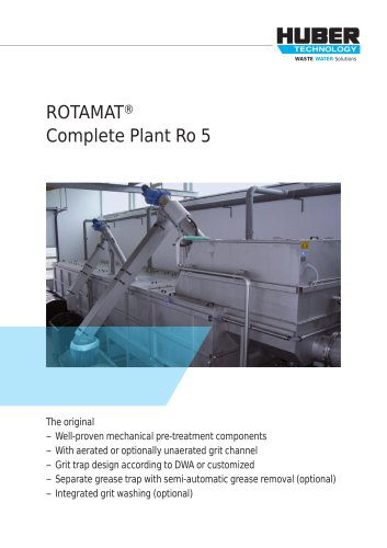 ROTAMAT® Complete Plant Ro 5
