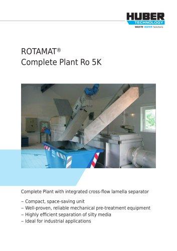 ROTAMAT® Complete Plant Ro 5K
