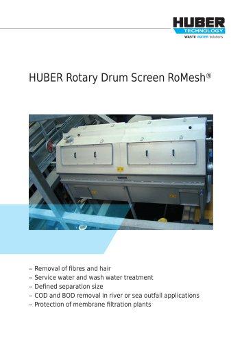 ROTAMAT® Rotary Drum Screen RoMesh®
