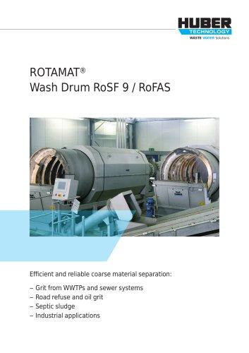 ROTAMAT® Wash Drum RoSF 9 / RoFAS