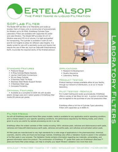 50P Lab Filter Tech Sheet
