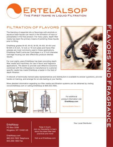 Filtration Flavors