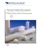 MicroCap? Depth Filter Capsules
