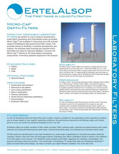 Tech Sheet Micro-Caps