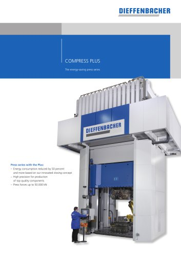 COMPRESS PLUS The energy-saving press series