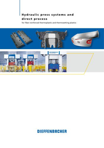 Hydraulic press systems and direct process