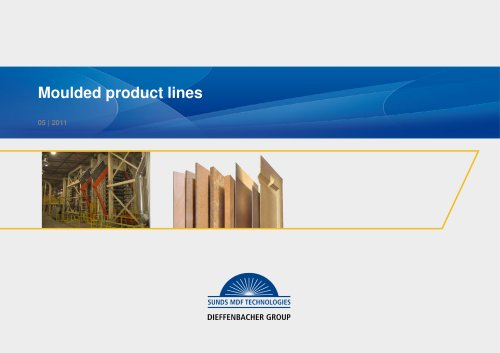 Moulded product lines