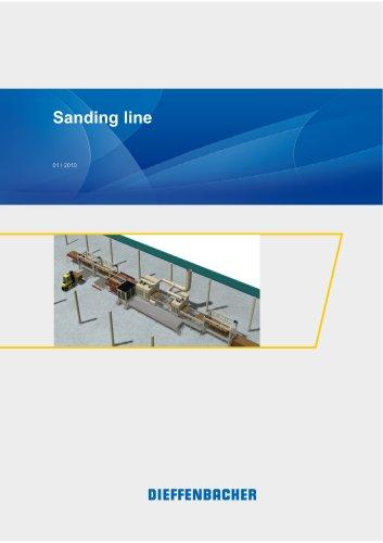 Sanding line