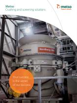 Metso Crushing and screening solutions