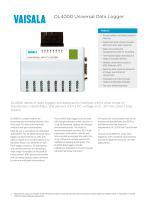 DL4000 Universal Data Logger