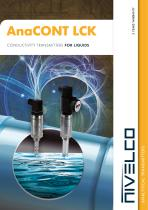 NIVELCO ANALYTICAL TRANSMITTERS - CONDUCTIVITY - AnaCONT LCK