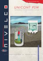NIVELCO SIGNAL PROCESSING UNITS - ULTRASONIC PUMP CONTROL SYSTEM - UNICONT PSW
