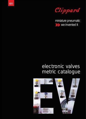 Clippard Metric Electronic Valves Catalogue