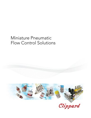 Miniature Pneumatic Flow Control Solutions