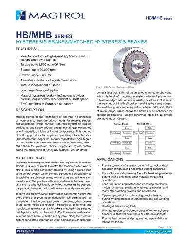 HB/MHB SERIES