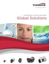 COMPRESSORS, VACUUM & LIQUID PUMPS Global Solutions