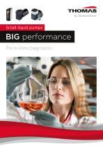 Small liquid pumps BIG performance