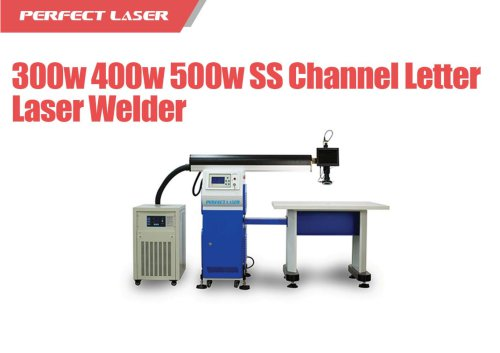 10-3 PE-W Series SS Channel Letter Laser Welding Machine