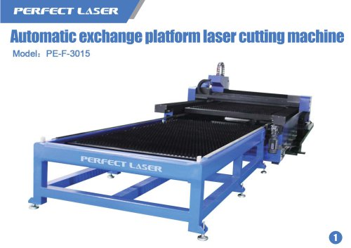 Exchange table fiber laser marking machine PE-F-3015II