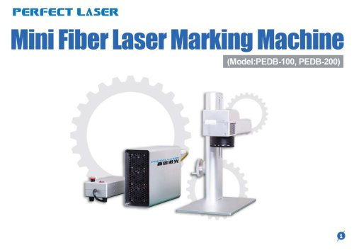 Mini Fiber Laser Marking Machine PEDB-100