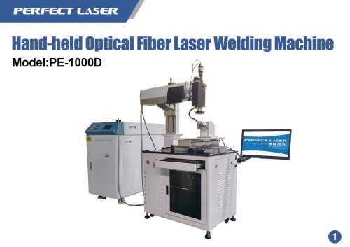 PE-W1000D Hand-held Optical Fiber Laser Welding Machine