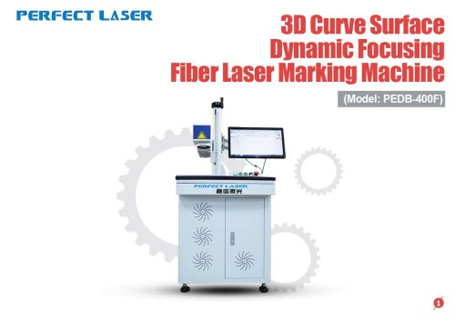Perfect Laser - 3D Curve Surface Dynamic Focusing Fiber Laser Marking Machine PEDB-400F