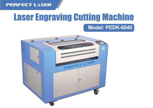 Perfect Laser-40w 50w 60w Small Desktop Co2 Laser Engravers PEDK-6040
