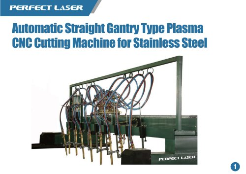 Perfect Laser-Automatic Straight Gantry Type plasma cutter