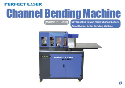 Perfect Laser - Channel Letter Bending Machine PEL-200