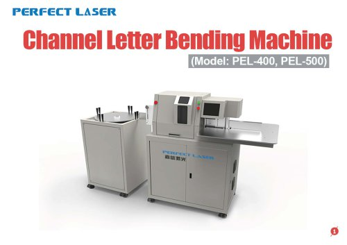 Perfect Laser - Channel Letter Bending Machine PEL-400 PEL-500