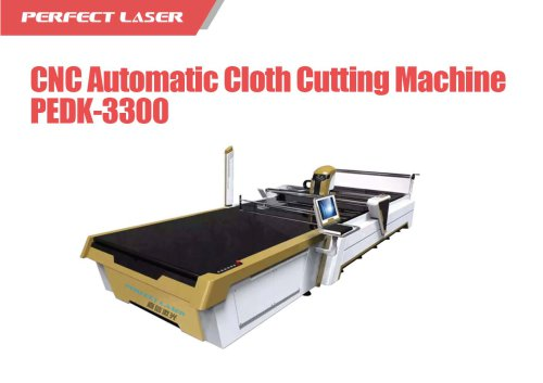 Perfect Laser - CNC Automatic Cloth Cutting Machine PEDK-3300
