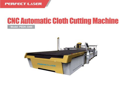 Perfect Laser CNC Automatic Cloth Cutting Machine PEDK-3300