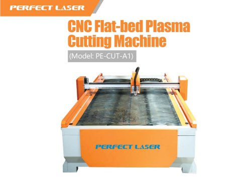 Perfect Laser-CNC Flat-bed Plasma Cutting Machine PE-CUT-A1
