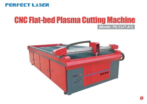 Perfect Laser-CNC Flat-bed Plasma cutting machine-PE-CUT-A1