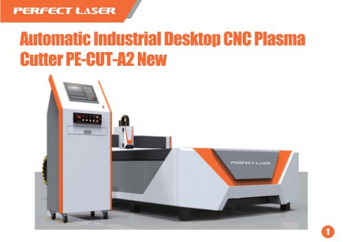 Perfect Laser-CNC Flat-bed Plasma cutting machine PE-CUT-A2