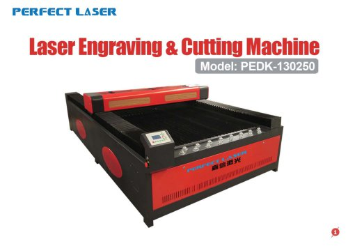 Perfect Laser-Co2 Laser Engraving & Cutting Machine PEDK-130250