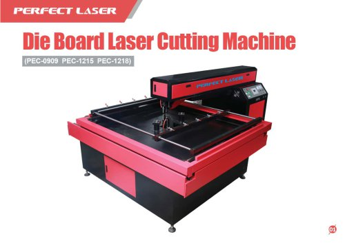 Perfect Laser - Die Board Laser Cutting Machine PEC-1215