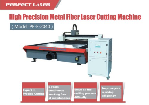 Perfect Laser Fiber Laser Cutting Machine PE-F2040