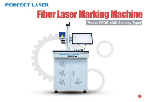 Perfect Laser - Fiber Laser Marking Machine PEDB-400D