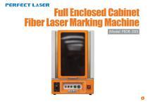 Perfect Laser - Full Enclosed Cabinet Fiber Laser Marking Machine PEDB-200