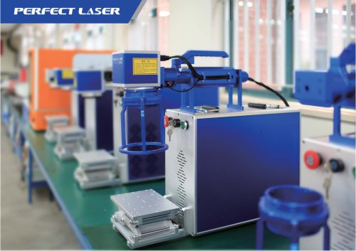 Perfect Laser Handheld fiber laser marking machine PEDB-400H