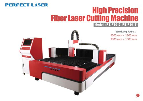 Perfect Laser - High Precision Fiber Laser Cutting Machine PE-F1000-2513 PE-F1000-3015