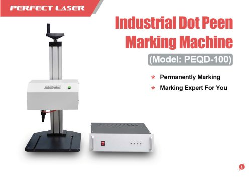 Perfect Laser - Industrial Dot Peen Marking Machine PEQD-100