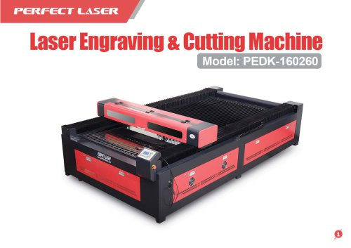 Perfect Laser - Laser Engraving And Cutting Machine PEDK-160260