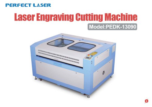Perfect Laser - Laser Engraving Cutting Machine PEDK-13090