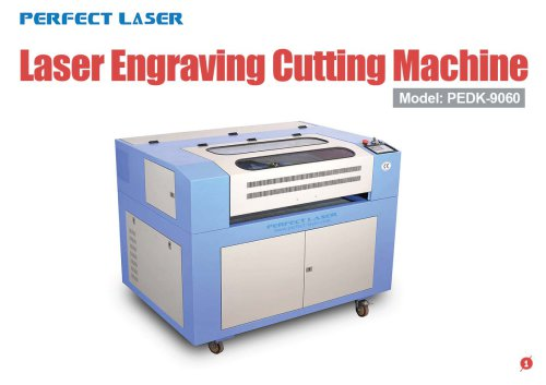 Perfect Laser - Laser Engraving & Cutting Machine PEDK-9060