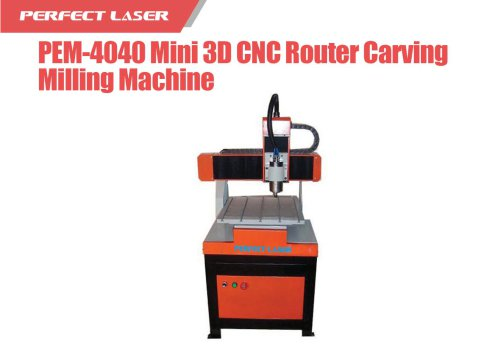 Perfect Laser - Mini 3D CNC Router Carving Milling Machine PEM-4040
