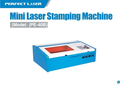 Perfect Laser - Mini Laser Stamping Machine PE-40B