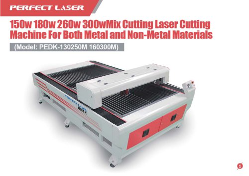 Perfect Laser-Mixed Cutting Laser Cutting Machine PEDK-160300M