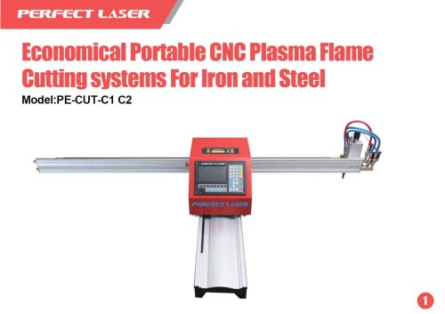 Perfect Laser Plasma laser cutter Economical Portable PE-CUT-C1 C2